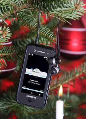 Handy zu Weihnachten - Das neue Qbowl von Samsung