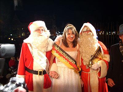 Christkind aus Bayern ist neue Weihnachtsmann-Meisterin