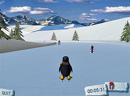 weihnachten spiel glacier racer xmas game. Black Bedroom Furniture Sets. Home Design Ideas