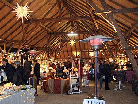 Weihnachtsmarkt auf Gut Basthorst