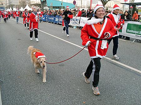 Weihnachtsmann-Lauf