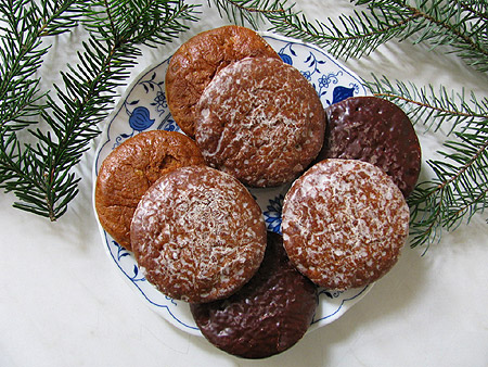 Lebkuchen und Weihnachtsgebäck