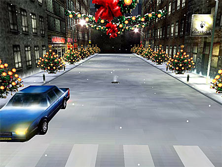Weihnachten Bildschirmschoner 3D Christmas